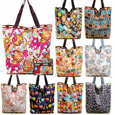 Grocery Foldable Cute Shopping Shoulder Storage Reusable Eco Tote Bag Handbag
