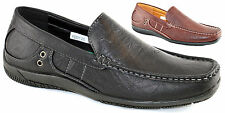 Mens Smart Slip Ons Casual Deck Boat Driving Moccasin Dress Loafers Shoes Size
