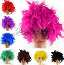 Fashion Unisex Fancy Dress Up Party Curly Afro Short Full Wig Halloween Costume