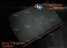 New KH Special Laptop Carbon Leather Skin Cover Protector For Sony CW Series