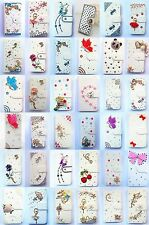 Bling Diamond Wallet Card Holder PU Leather flip Case Cover For HTC Desire 826