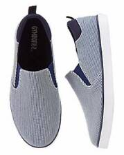Gymboree NWT Little Boys Island Cruise Blue Striped Sneakers Shoes 04 06 9 10
