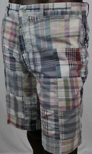 POLO By Ralph Lauren Mens Plaid Patchwork Shorts ~NWT~