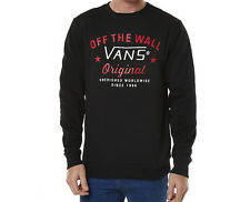 VANS GLENCREST CREW BLACK MENS NEW APPAREL AUSTRALIAN SELLER FREE DELIVERY