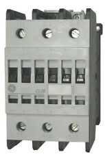GE CL08A300M1 3 pole 110 AMP contactor with a 24 volt AC coil