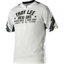 Troy Lee Designs TLD Ace Mens White With Black and Grey Cycling Jersey