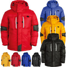 Winter Waterproof Hooded Wellon Down Coat Jacket Parka Thicken Outer Overcoat