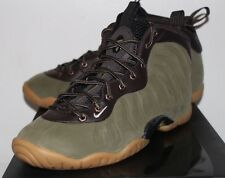 Nike Air One Foamposite Olive Little Posite Sneakers Boy's GS Size 5 6 6.5 7 New