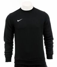 Nike Sweatshirt New Mens Black Crew Neck Crew Top Sweater S M L XL XXL 0933