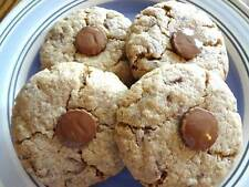 HOMEMADE PEANUT BUTTER CUP OATMEAL COOKIES (CHOICE OF QUANTITY)