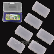 6 / 12 x Plastic Game Cartridge Cases For Nintendo Gameboy Advance Sp GBA & GBM