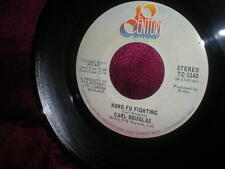 DOUGLAS CARL 45RPM 1974 KUNG FU FIGHTING & GAMBLIN MAN 20TH CEN TC-2140