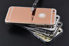 Luxury Ultra-thin Mirror Transparent Soft TPU Case Cover For iPhone 5S 6 6S Plus
