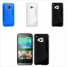 Ultra-thin Soft S-line TPU Silicone Rubber GEL Case Cover Skin For HTC One M9