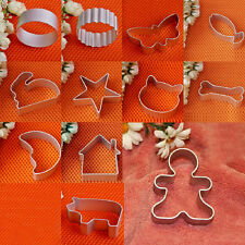 Aluminium Alloy Cookie/Biscuit/Cake/Jelly Cutter Tin Mold Mould Baking Tool