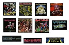 IRON MAIDEN - OFFICIAL SEW-ON PATCH logo patches number of the beast trooper