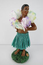 Dashboard Doll Hula Man Muscle Tiki 50s Rockabilly Hawaii Kustom Kulture Wobbler
