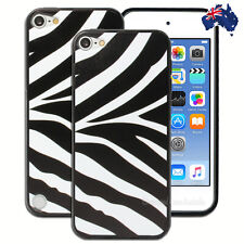 NEW Zebra Black White Hard Back Case for Apple iPod Touch 5 5th 6 6th Gen Cover