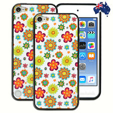 Hippie Flowers Hard Back Case for Apple iPod Touch 5 5th 6 6th Gen Cover