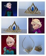 Frozen Queen Elsa Crown tiara girl gift toy Costume Party christmas dress up set