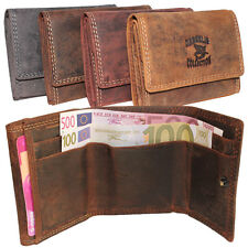 Vintage Leather Mini Purse Purse Wallet Crosswise Unisex