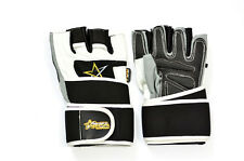RFA Gears Men's Weight Lifting Gym Workout Gloves Leather Fitness Exercise