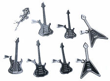 Guitar 925 Silver Stainless steel Different Models Metal Rock Band Music & Roll