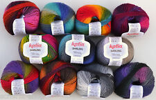 Katia Darling Wool with Merino wool Sock wool Lace yarn with colour gradient