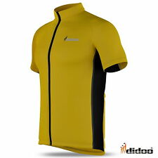 New mens cycling jersey half sleeve Biking Top Cycle racing Didoo CY-161