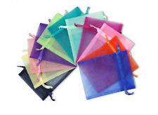 100/200/500/700 3x4 Organza Party Packing Wedding Favor Candy Gift Bags Deco