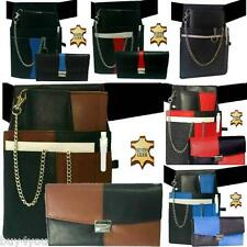 Waiter Exchange Coin Purse Waiter's Money Pouch Leather Taxi Wallet Belt Chain