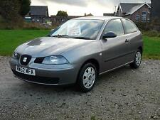 Seat Ibiza 1.2 2003MY S, GREY,MANUAL,PETROL,