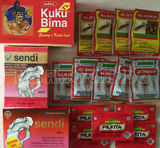 JAMU/HERBS for STAMINA, FATIGUE, BACK PAIN, STIFFNESS, MUSCLES - PILLS/CAPSULES