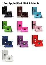 360 ° Degree Apple IPad Mini 1 1st 2 2nd 3 3rd 4 4th Stand Leather Case Cover