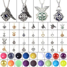 Mexican Bola Pendant Angel Wing Cage Harmony Chime Sounds Ball DIY Necklace Gift