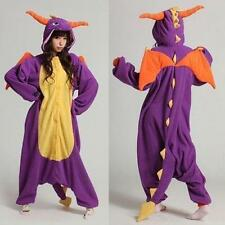 Spyro Dragon Unisex Adult Onesie Kigurumi Pajamas Anime Cosplay Costume Dress