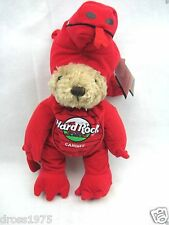 Hard Rock Cafe CARDIFF 2004 DRAGON Teddy Bear PLUSH City HRC #639 Costumed MWMT