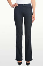 NEW NYDJ Not Your Daughters Jeans pant Sarah classic bootcut dark enzyme sz 2