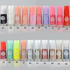 20Colors Women Unique Based Peel Off Nail Polish Art Manicure Water Based Gel HY