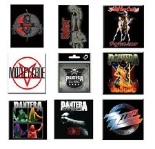 SLIPKNOT motley crue PANTERA zz top -OFFICIAL  FRIDGE MAGNET