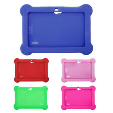 """Cute Soft Silicone Gel Case Cover For 7"""" Android A13 A23 Q88 Tablet PC Kids Hot"""