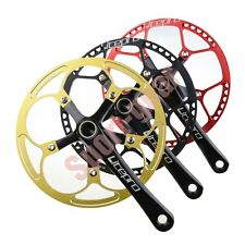 LitePro Single Crankset 130mm BCD 53T 56T CNC Hollow Forged Design BB Included
