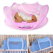 New Foldable Baby Crib Mosquito Net Cotton-padded Mattress Pillow Tent ONMF