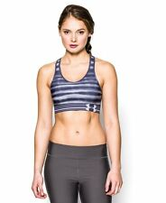 NWT Women's Under Armour HeatGear Alpha Printed Sports Bra size XS, S, M, or XL
