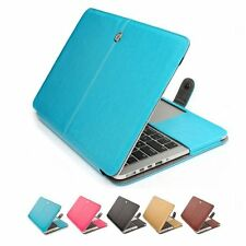 "PU Leather Laptop Sleeve Bag Case Cover For Macbook Air Pro Retina 11"" 13"" 15"""