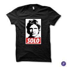 Solo tshirt - star wars darth vader sith yoda jedi captain han force awakens