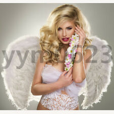 Fairy Angel Feather Wings sexy angel wing Dress Costume Hen Night Accessories SE