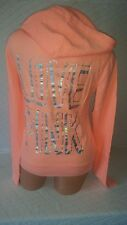 Victoria's Secret Love Pink Full-Zip  Hoodie Doggie Logo With Love Pink Graphics