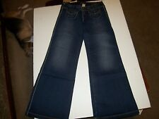 NEW Silver Brand JEANS Starr Supreme FLARE wide leg jeans dark wash sz 29 x 33