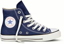 Converse Hi Top Star Chuck Taylor Navy Blue White Mens Womens Shoes Size 4.5-13